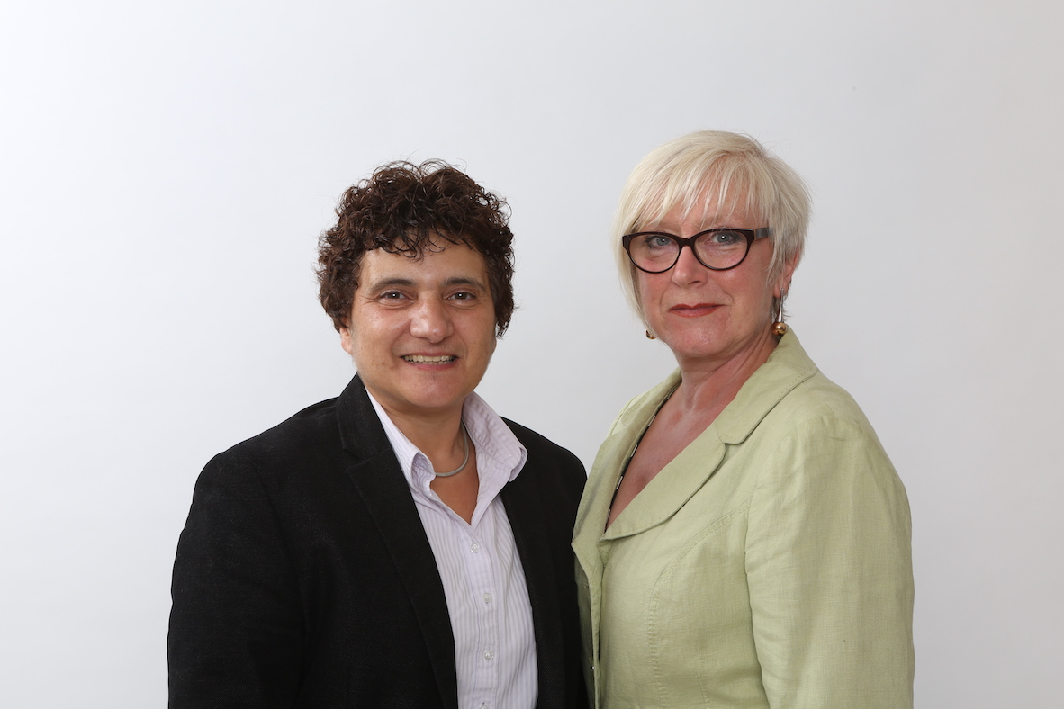 Hattie Hasan MBE and Mica May, Directors of Stopcocks Group Ltd
